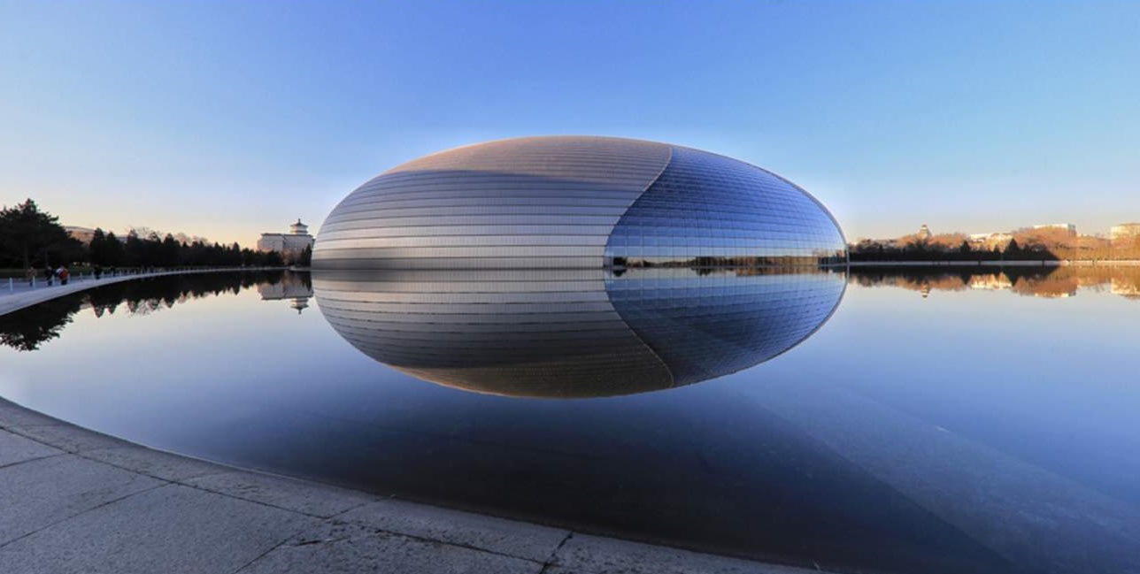 مرکز ملی هنرهای نمایش پکن ( National Centre for the Performing Arts, Beijing‎‏ )